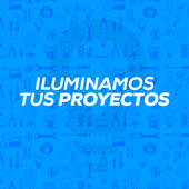 Iluminamos tus proyectos icon