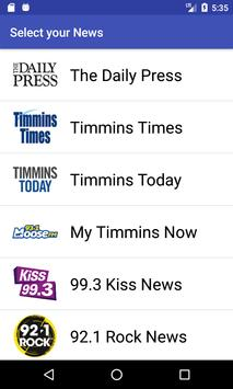 Timmins News poster