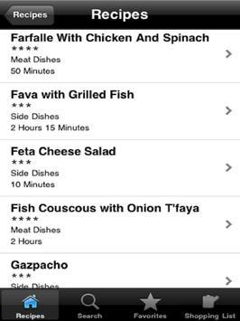 Middle Eastern Cuisine screenshot 1