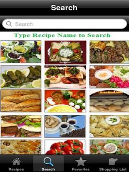 Middle Eastern Cuisine screenshot 3