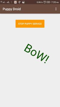 Puppy Droid - Whistle detector apk screenshot