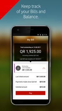 My Vodafone (Qatar) apk screenshot