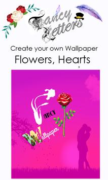 Fancy Letter Wallpaper Maker screenshot 4