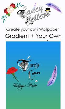Fancy Letter Wallpaper Maker screenshot 6