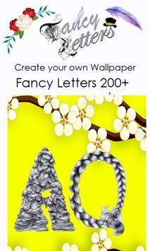 Fancy Letter Wallpaper Maker screenshot 7