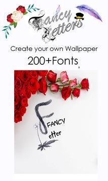 Fancy Letter Wallpaper Maker screenshot 8