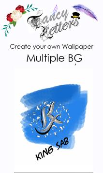 Fancy Letter Wallpaper Maker screenshot 1
