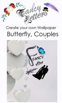 Fancy Letter Wallpaper Maker screenshot 3