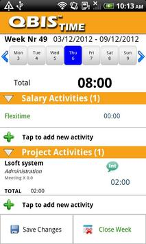 QBIS Time Android apk screenshot