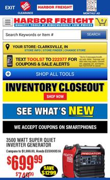 Harbor Freight Quick Browser poster