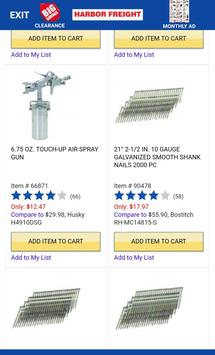 Harbor Freight Quick Browser screenshot 2