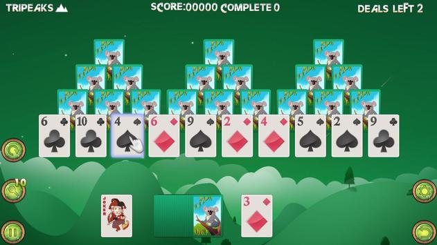 TriPeaks Solitaire apk screenshot