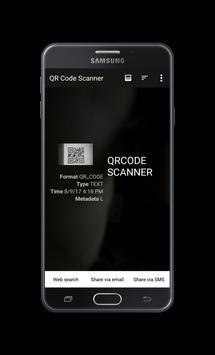 QR CODE AND BARCODE SCANNER apk screenshot