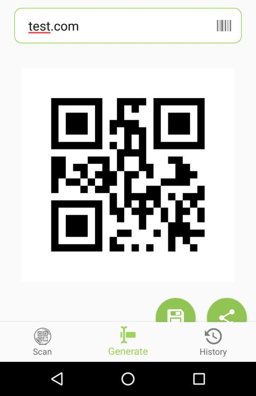 Qr code and barcode generator para android apk baixar qr code and barcode generator imagem de tela 4 stopboris Image collections