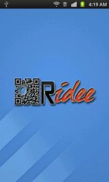 QRidee poster