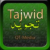 Tajwid Lengkap Qt-Media ícone