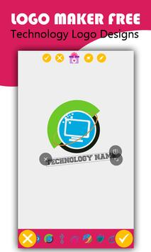 logo maker free technology logo designs for android apk download