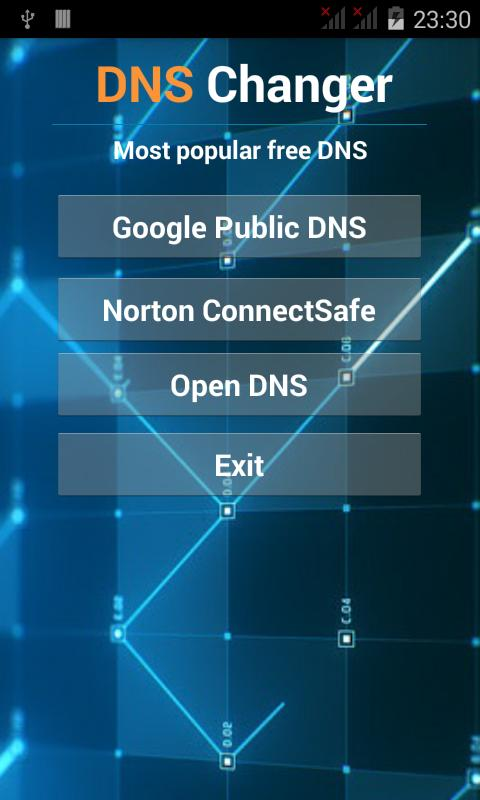 dns changer apk android 2.3