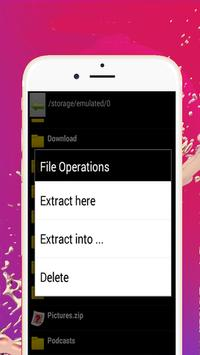 Quick File Unzip or Zip Unzip Files App screenshot 2