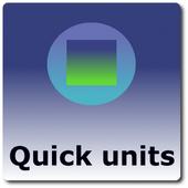 Unit converter - Quick Units icon