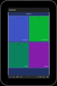 Unit converter - Quick Units screenshot 4
