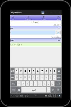 Unit converter - Quick Units screenshot 5
