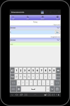Unit converter - Quick Units screenshot 7