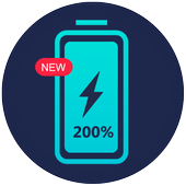 200 Battery Life - Quick Charge 3.0 icon