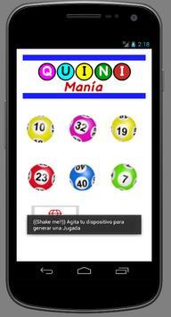 QuiniMania apk screenshot