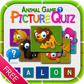 Animal Picture Quiz Game -Free icon