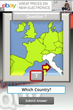 Geography Test Europe screenshot 3