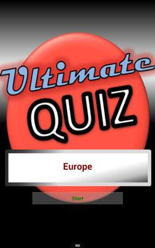 Geography Test Europe poster