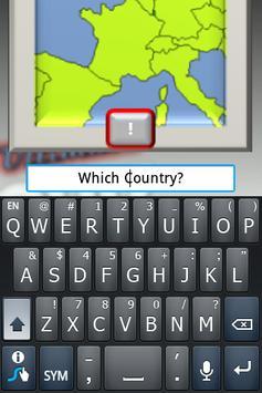 Geography Test Europe screenshot 2