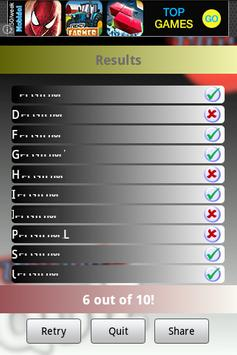 Geography Test Europe screenshot 4