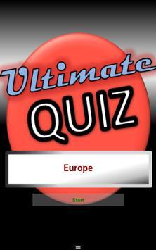 Geography Test Europe screenshot 5