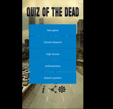 Quiz Of The Dead poster