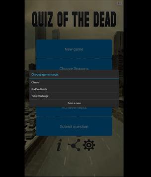 Quiz Of The Dead apk screenshot
