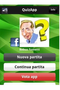QuizApp italian comics rebus apk screenshot