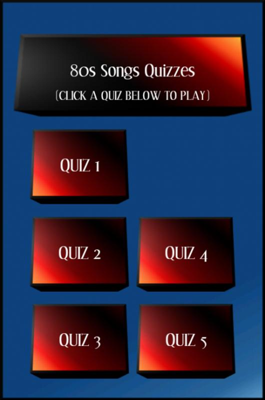 80s Songs Quizzes For Android