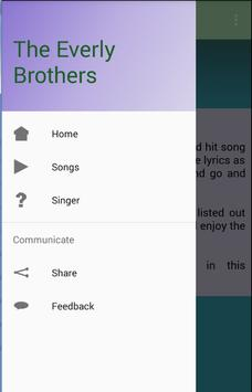 The Everly Brothers Songs apk screenshot
