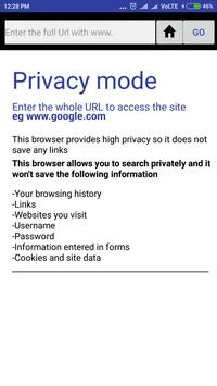 Protec The browsing app poster