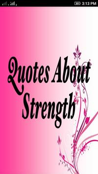 Quotes About Strength poster