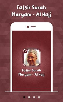 Tafsir Surah Maryam - Al Hajj poster