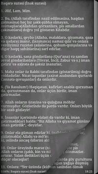 Azərbaycan Quran apk screenshot