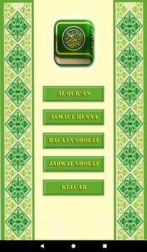 Al-Quran MP3, Asmaul Husna dan Tuntunan Sholat screenshot 8