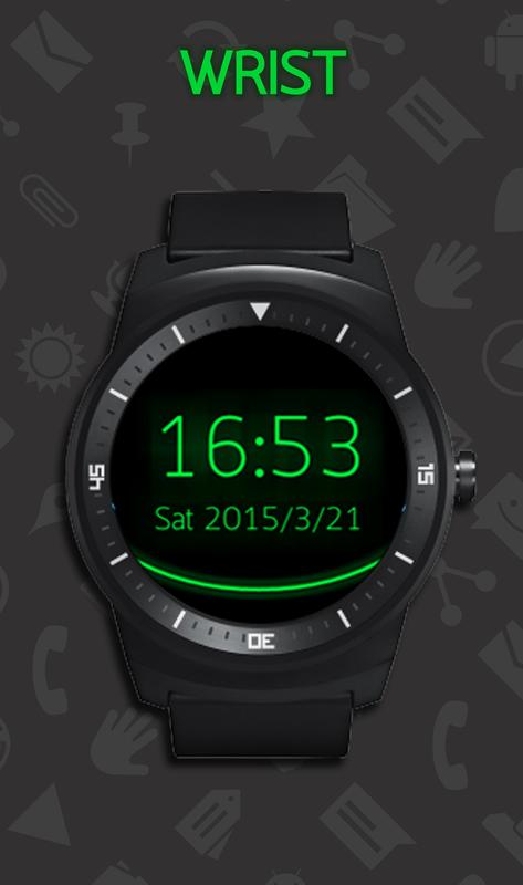 Holo Watch face for Android