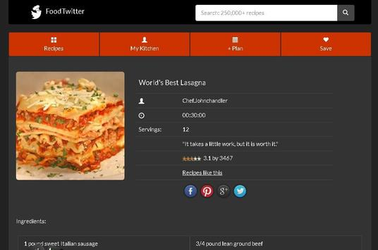 Lasagna Casserole SlowCooker Baking Allrecipes screenshot 8