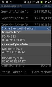 Knirsch Bluetooth Lastanzeige apk screenshot