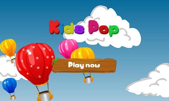 Kids Balloons Pop Free poster
