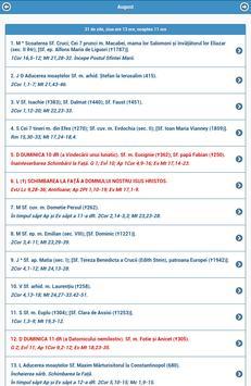 Agenda Greco-Catolica 2018 apk screenshot